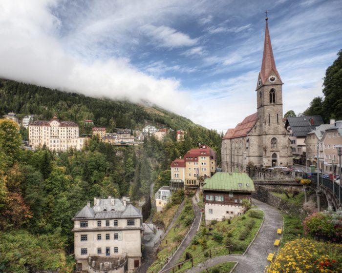Urlaub in der Elternzeit; Bad Gastein Austria