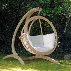 "Amazonas, ""Globo Chair"", ca. 330 Euro; über lola-haengematten.de"