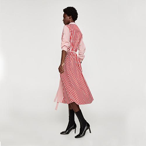 Gestreiftes Kleid, ca. 40 Euro, von Zara