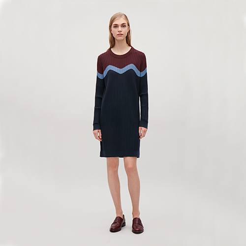 Intarsia-Kleid, ca. 89 Euro, von COS
