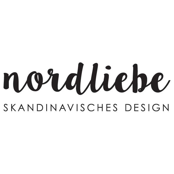 Logo nordliebe - skandinavisches design