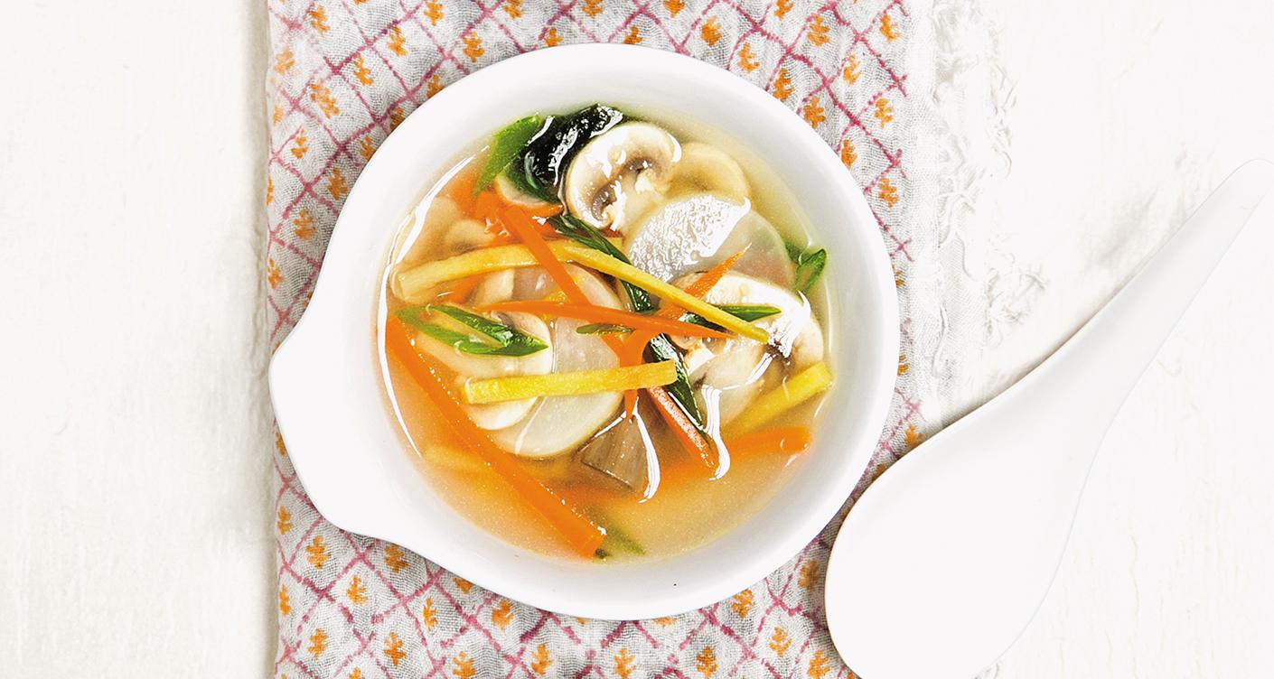 Slider Miso Suppe