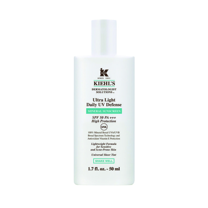 Kiehl's, UV Defense Mineral Sunscreen, ca. 43 Euro kiehls.de