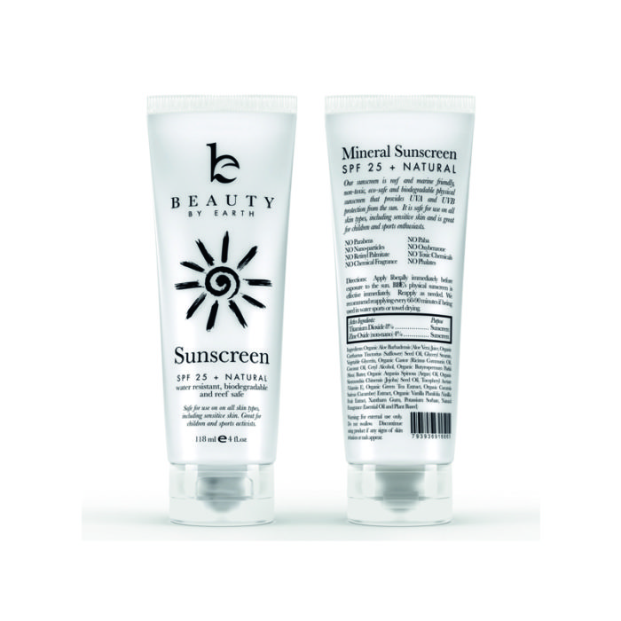 Beauty by Earth, Sunscreen, ca. 15 Euro