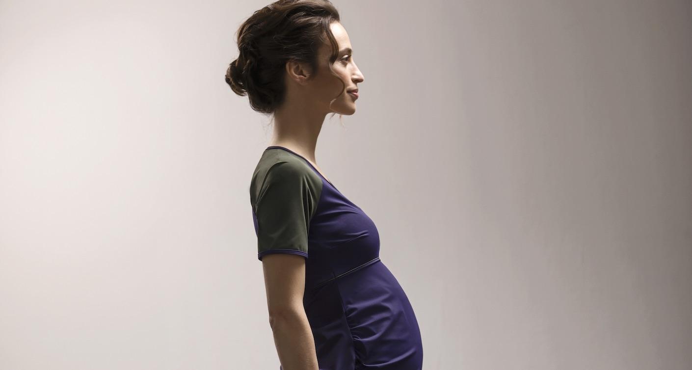 Leoandl Umstandsmode schwangere Frau