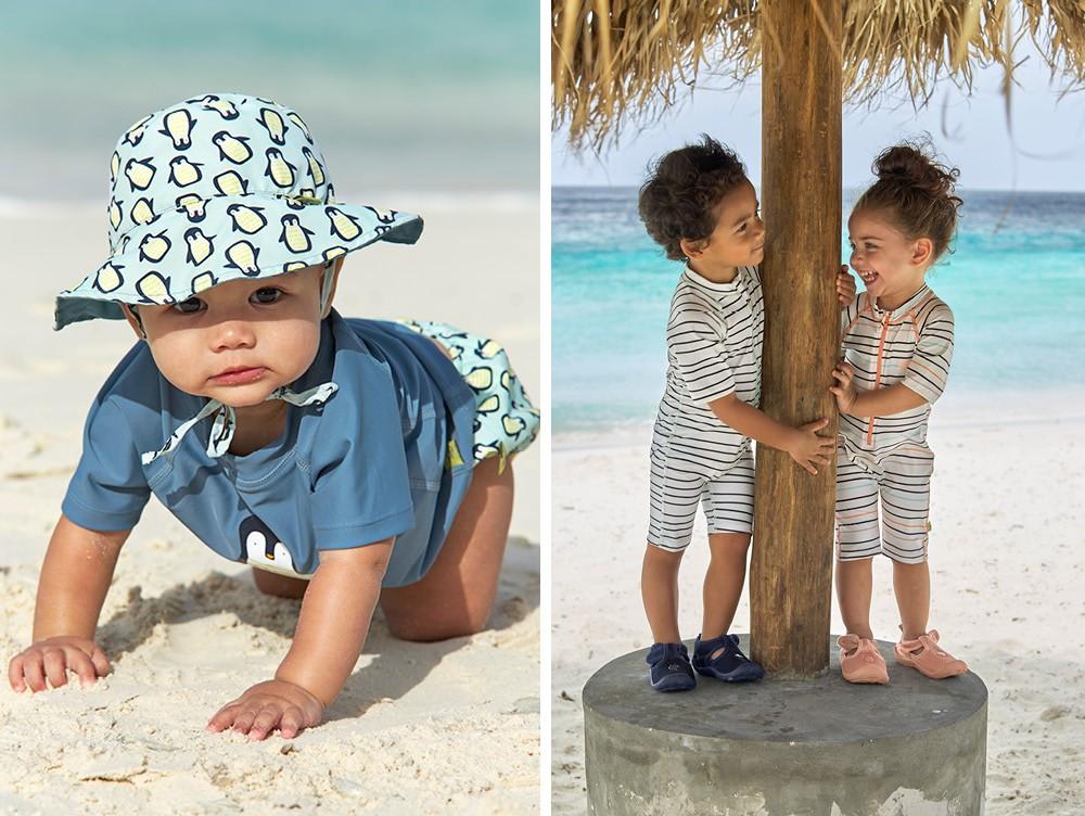Bademode für Babys imd Kleinkinder