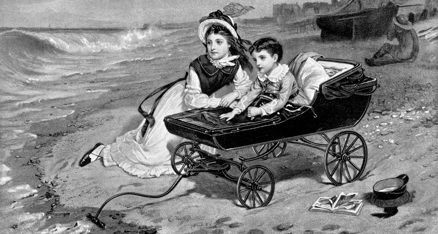 alte Kinderwagen