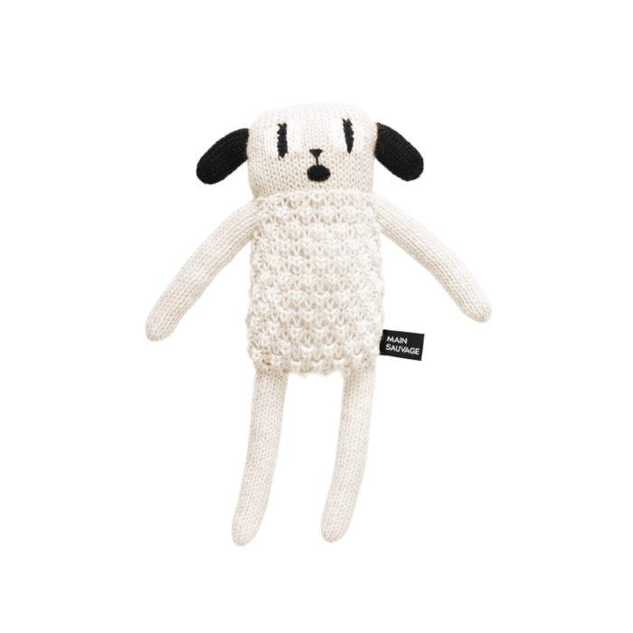 Kuscheltier Main Sauvage Puppy Alpaka Spielzeug Baby Geschenk zur Geburt