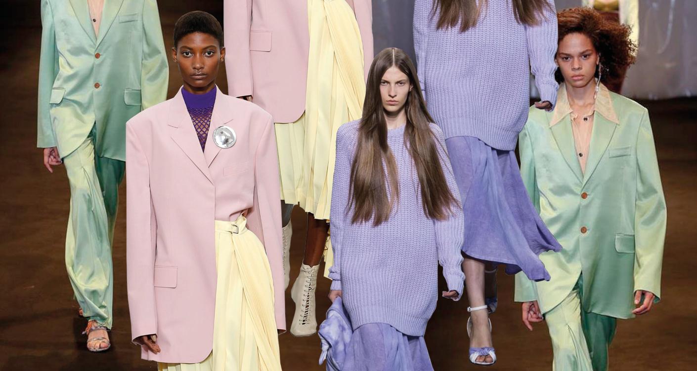 Pastellfarben Schwangerschaft Mode