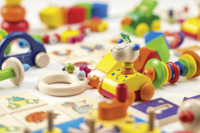 Selecta-Spielzeug-Giraffe-Nachzieh-Tier