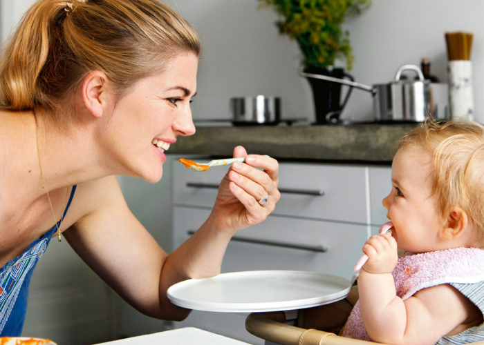 Beikost einführen Babybreirezept Nina Bott