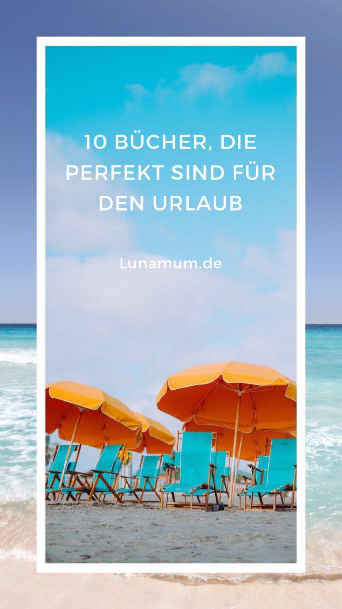 Buchtipps für den Urlaub auf Lunamum.de