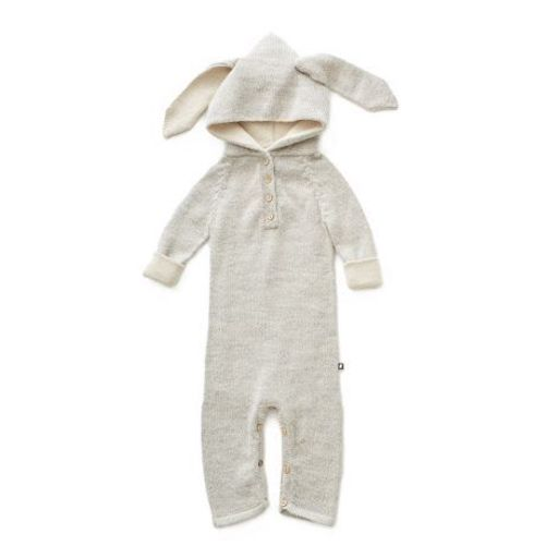 Oeuf Overall Hase Babymode Baby Neugeborenes Kleinkind Kindermode aus Baby Alpakawolle Herbst Winter