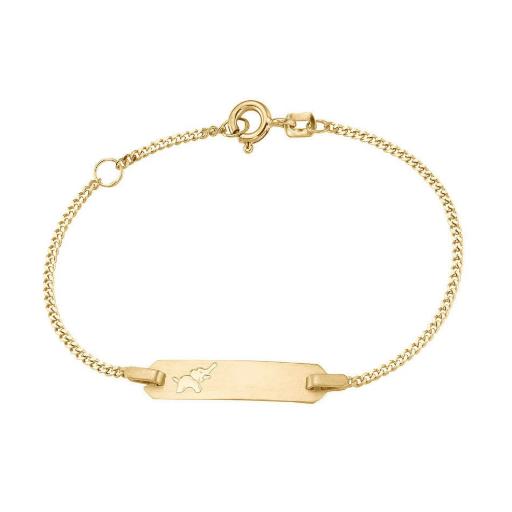 Goldarmband für Kinder Baby Geschenk zur Geburt personalisierbares Armband