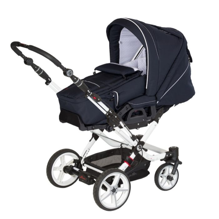 Urlaub mit Baby und Hartan Kinderwagen