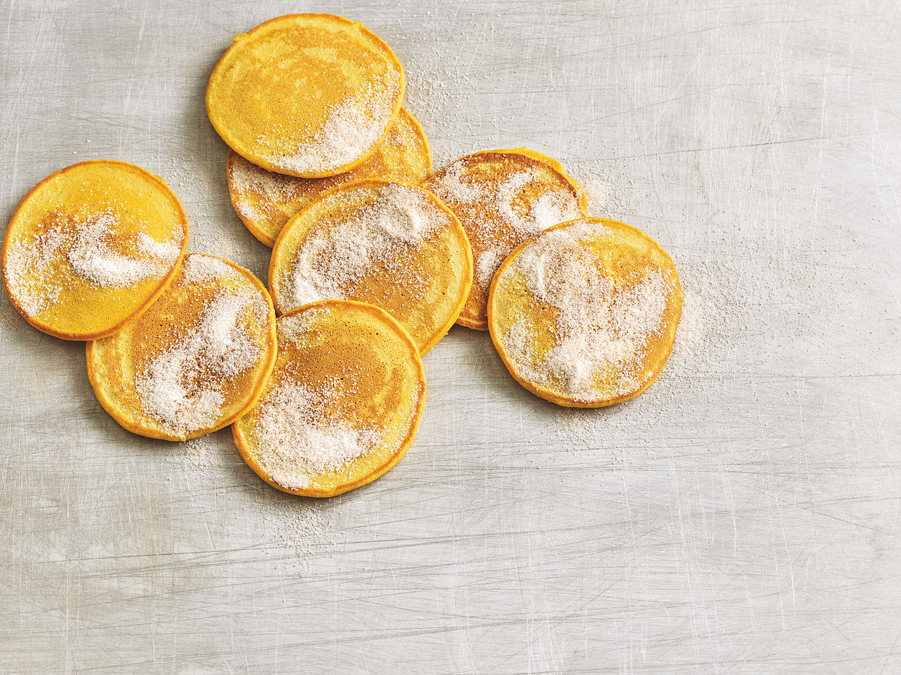 Pfannkuchen aus Kürbis