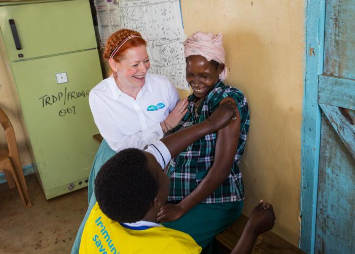 Enie van de Meiklokjes ist die neue UNICEF Botschafterin