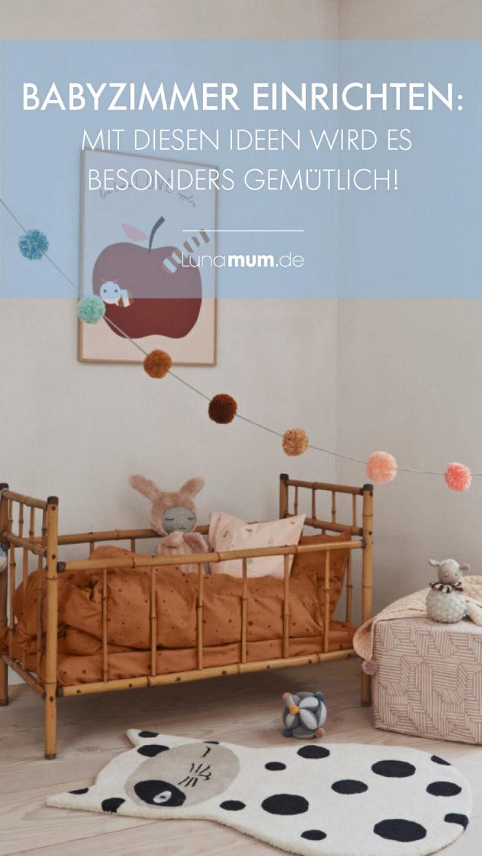 Das Babyzimmer einrichten – Ideen, wie es schön gemütlich wird