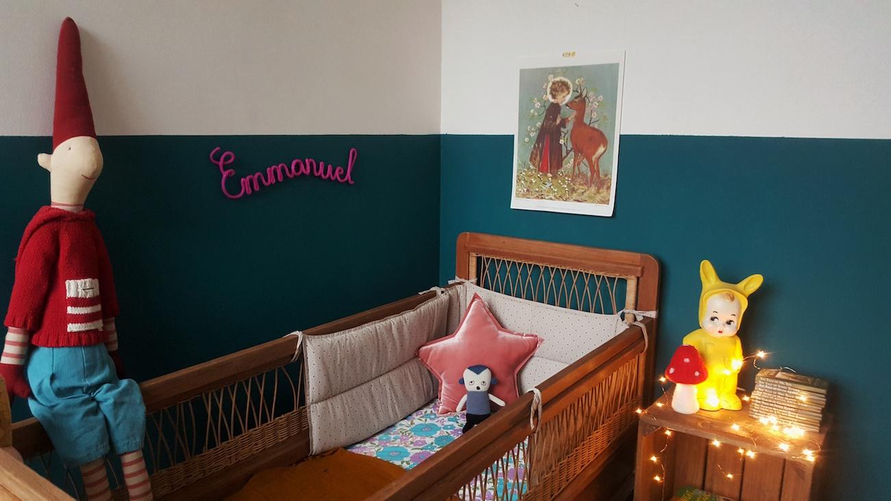 Stilmix im Babyzimmer