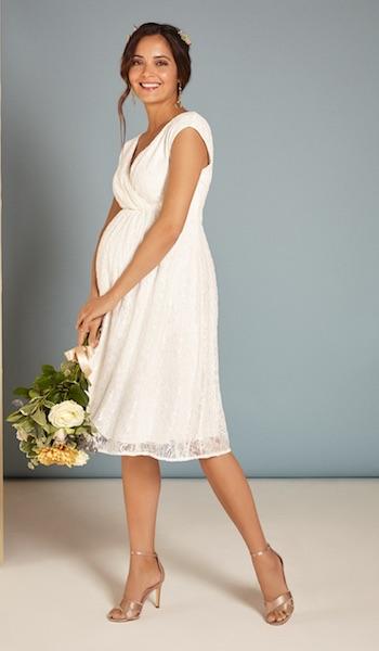 hochzeitskleid schwangerschaft mamarella 1