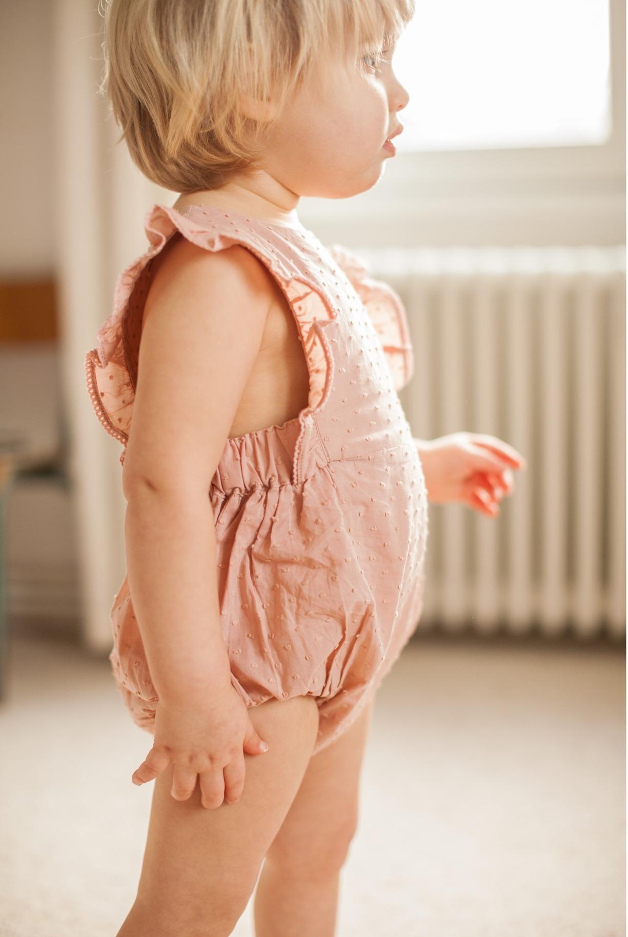 Marlot Paris Baby Rüschen Strampler